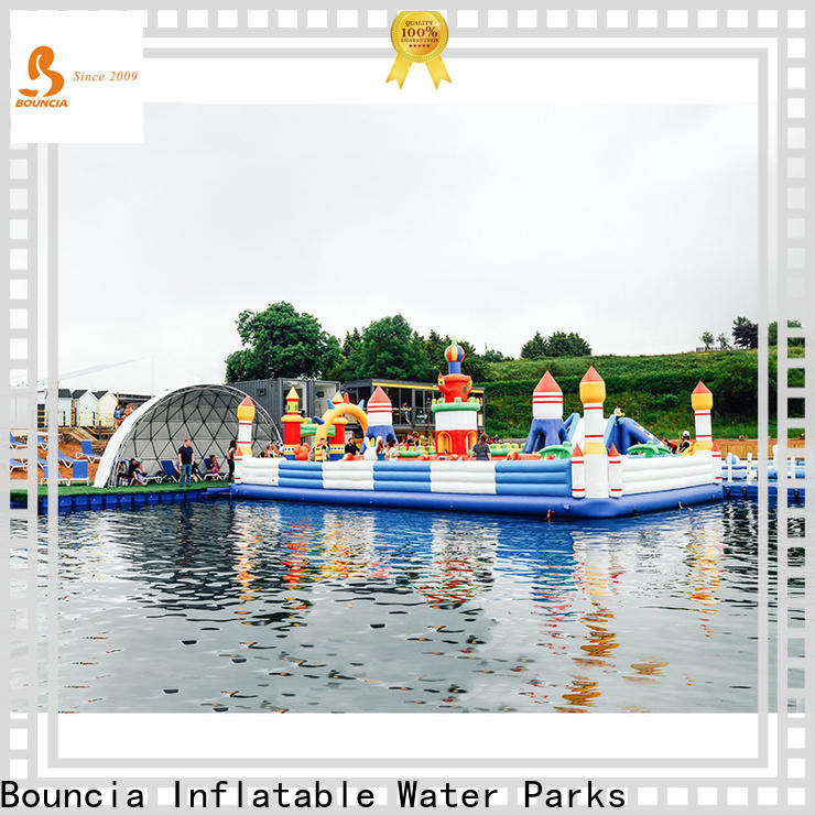 Bouncia inflatable backyard water park from China for kids