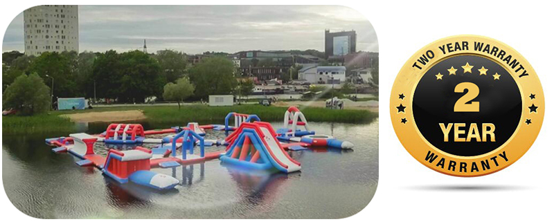 Bouncia Inflatable Water Park Warranty