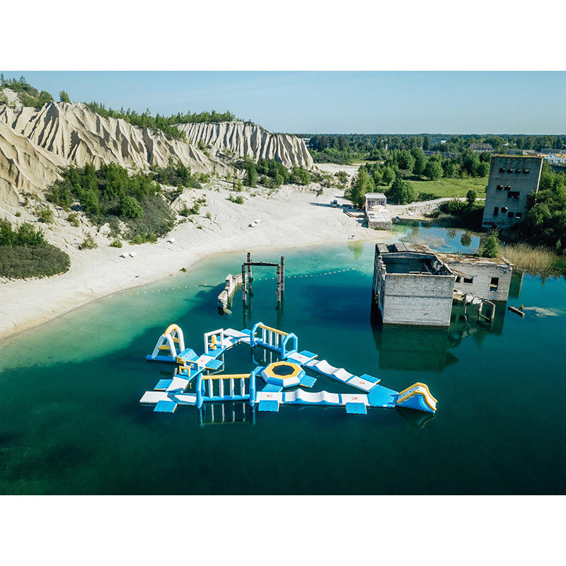 Estonia Water Park Floating Made By Bouncia