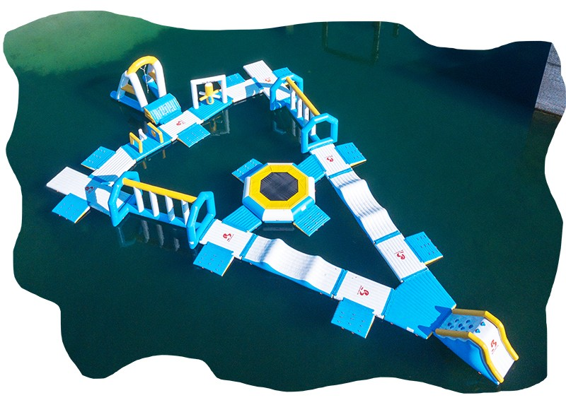 Bouncia Inflatable Water Park