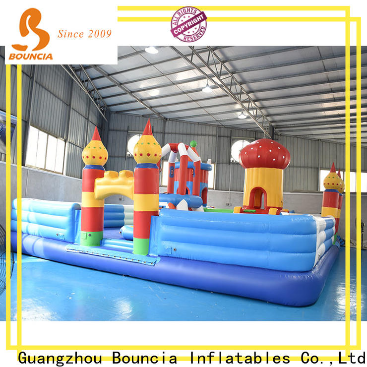 Bouncia the inflatable water park Factory price for child