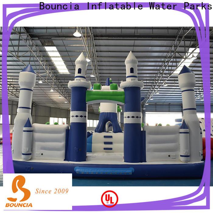 Bouncia children's blow up water slide Factory price for children