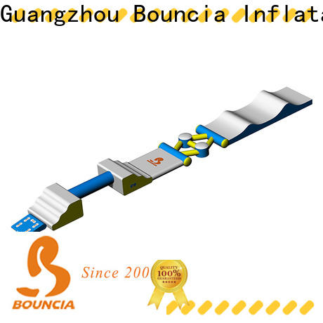 Bouncia course inflatable lake obstacle course from China for outdoors