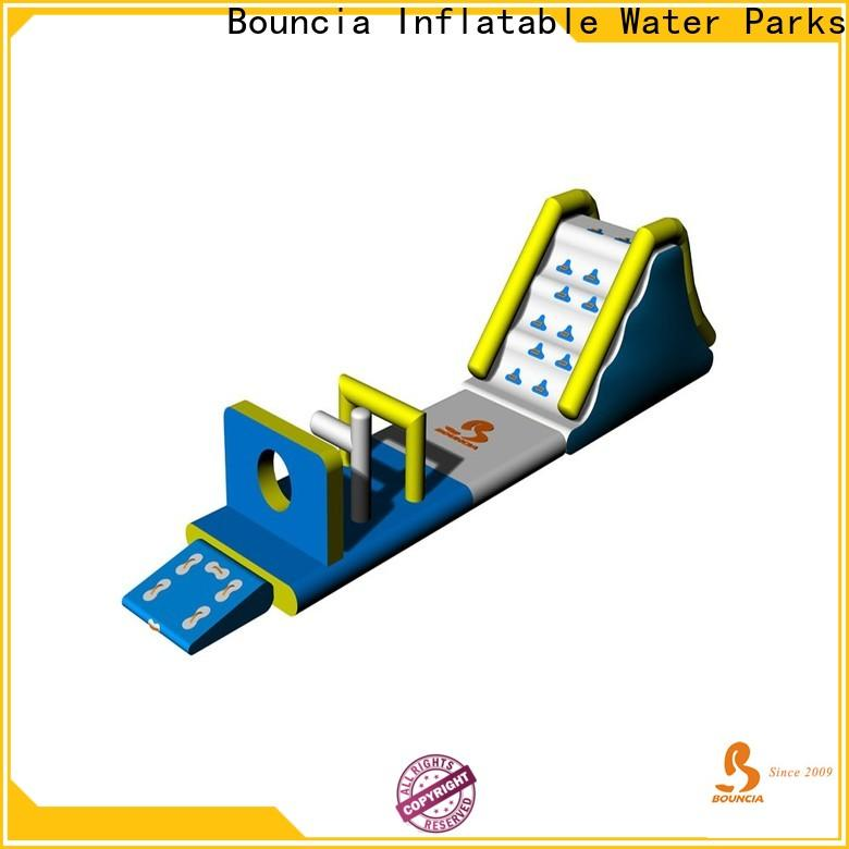 Bouncia stable inflatable park Suppliers for lake