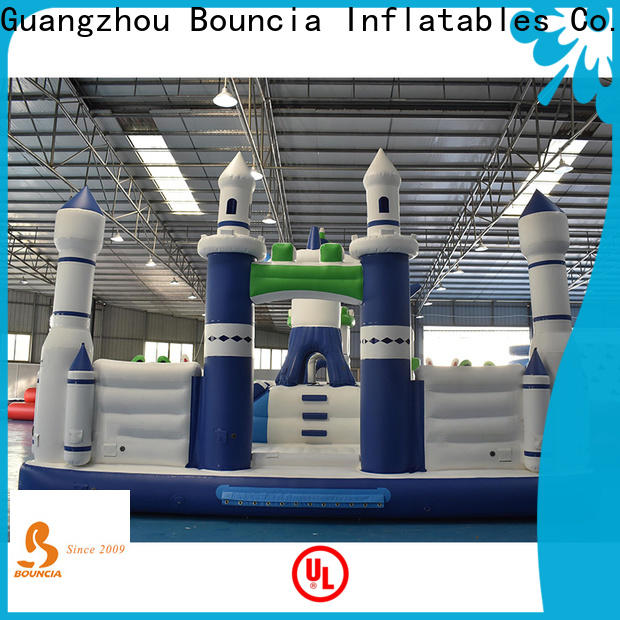Bouncia Custom kids blow up water park Supply for kids
