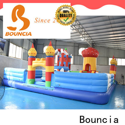 Bouncia stable inflatable water playground for business for student