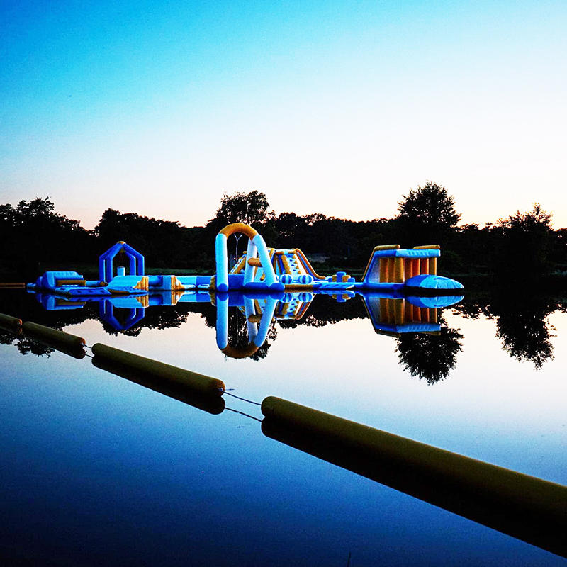 TUV Certified New Adults Inflatable Water Park In France