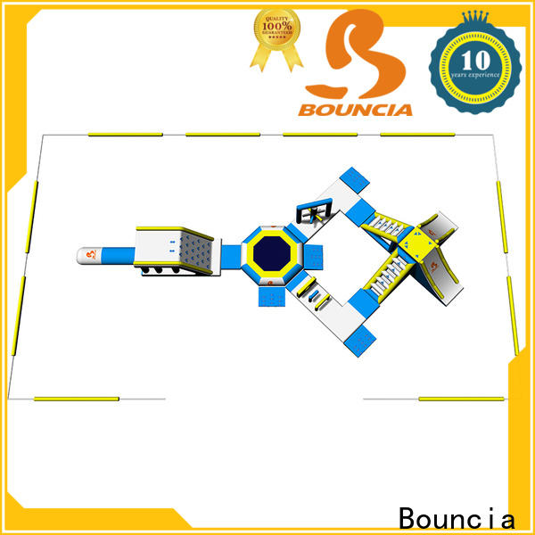 Bouncia floating aqua sports water park factory price for kids