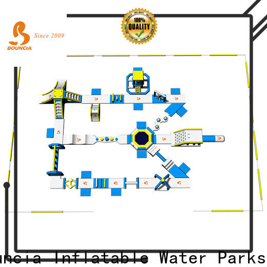 Wholesale inflatable water slide with slip and slide big factory for outdoors