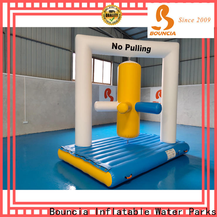 Bouncia durable inflatable water park factory company for outdoors