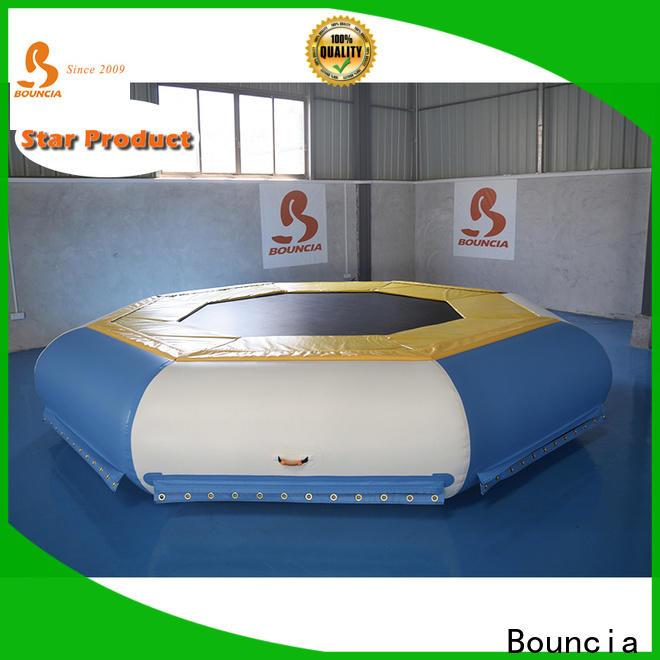 High-quality inflatable backyard water park trampoline Suppliers for kids