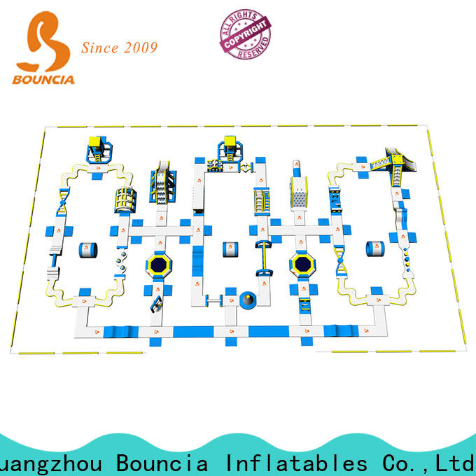 Bouncia Best large inflatables for water factory for lake
