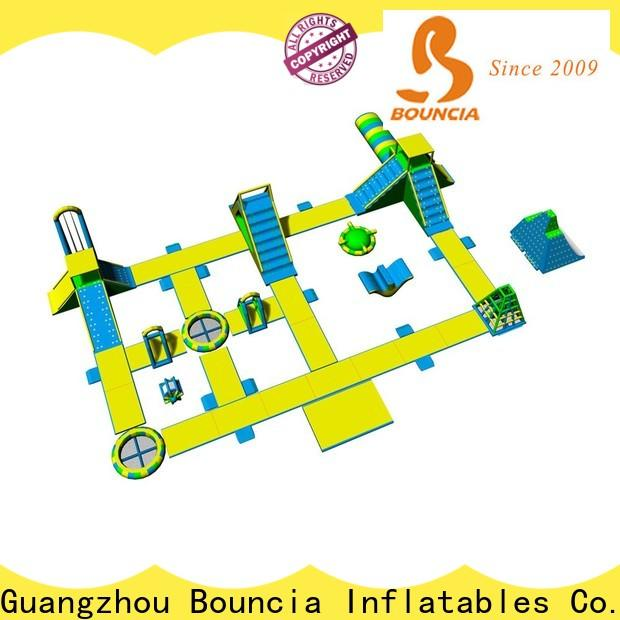 Bouncia pvc giant blow up slip and slide Supply for lake