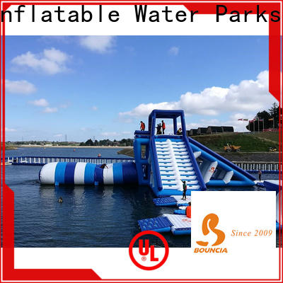 Bouncia typhon inflatable commercial water park from China for pool