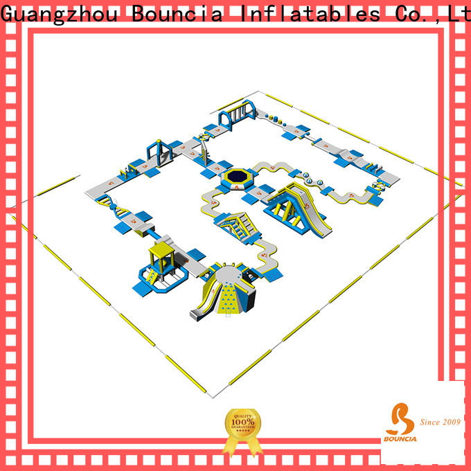 Bouncia certificated inflatable water park factory Supply for kids