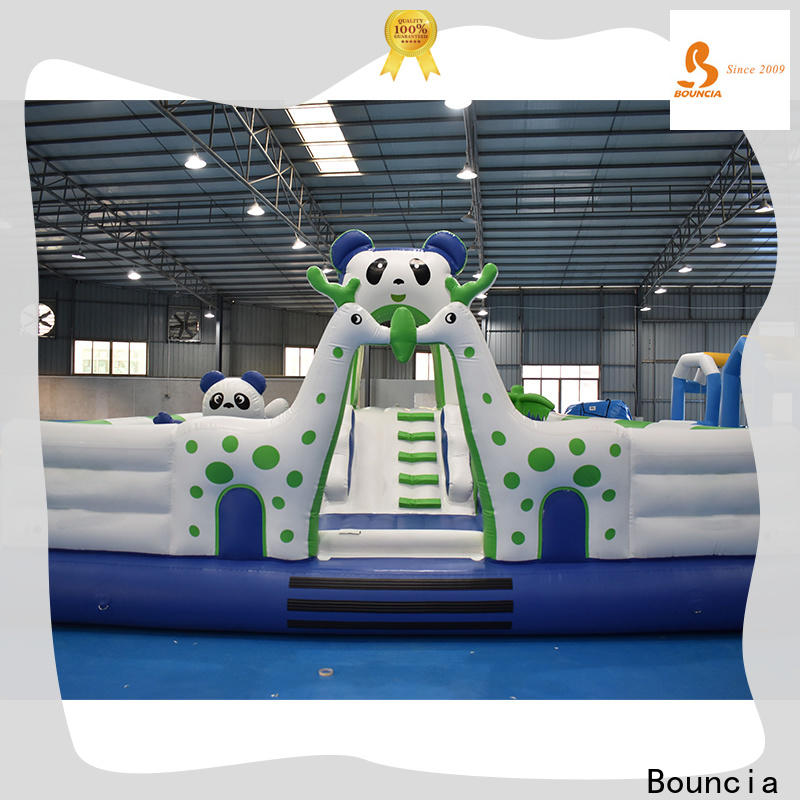 Bouncia New kids inflatable water park Supply for children