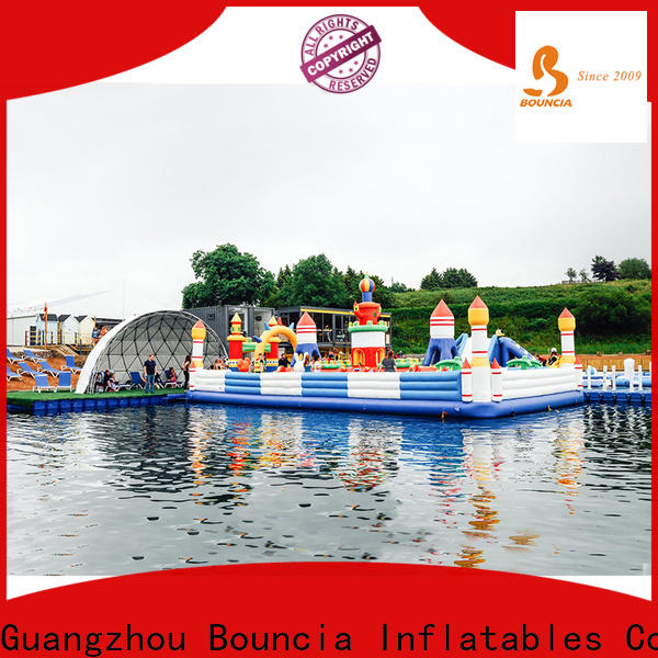 Bouncia stable inflatable water park for sale company for toddler