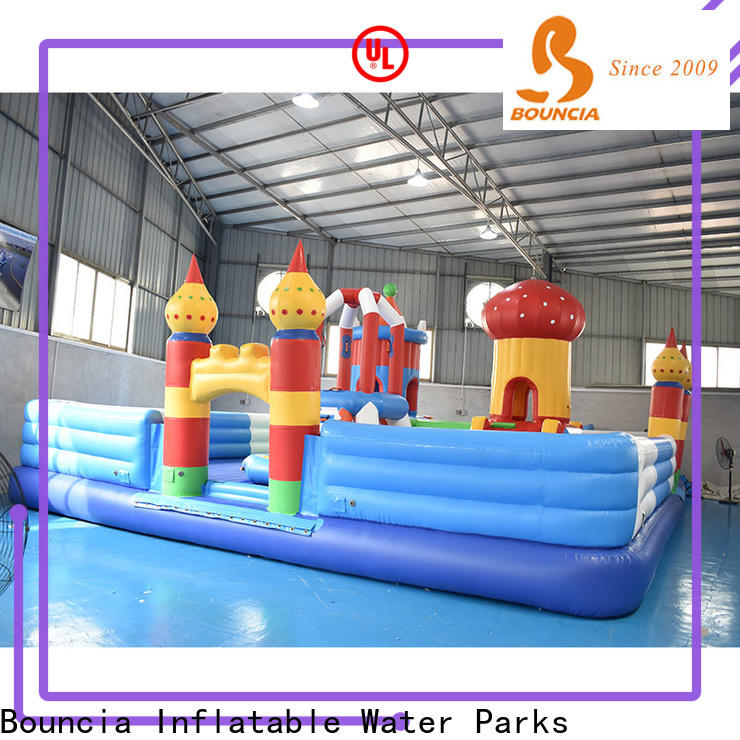 Bouncia inflatable water playground China for student