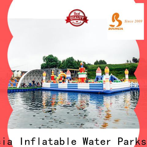 Bouncia inflatable splash park Suppliers for children