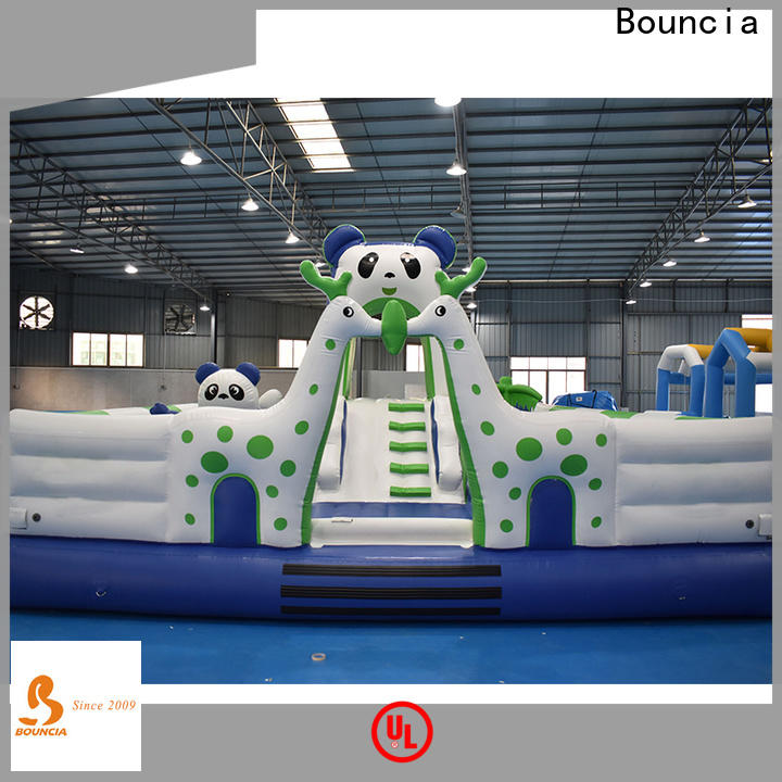 Bouncia outdoor water inflatables custom made for student