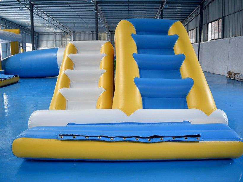 Hot inflatable factory ladder trampoline funny Bouncia Brand