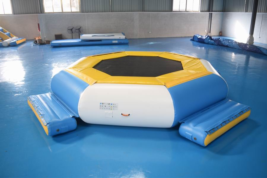 Lake Inflatable Water Park