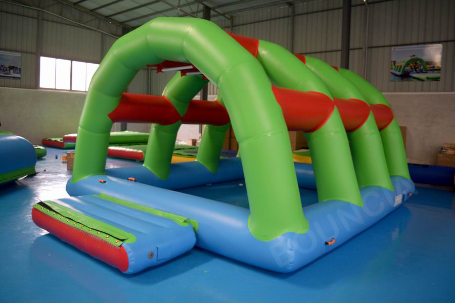 Bouncia -Best 2018 New Floating Inflatable Water Park For Lake Aqua Inflatable-17