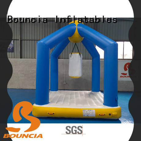 stable inflatable water park for adults jumping platform series for pool