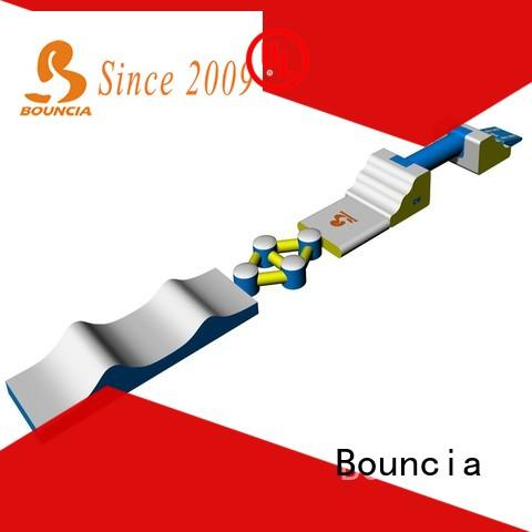 Bouncia toys inflatable waterslides series for pools