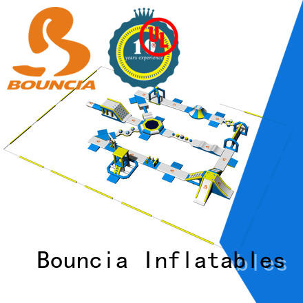 Bouncia floating outdoor water park wholesale for lake