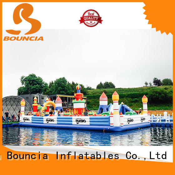 stable inflatable floating water park from China for toddler