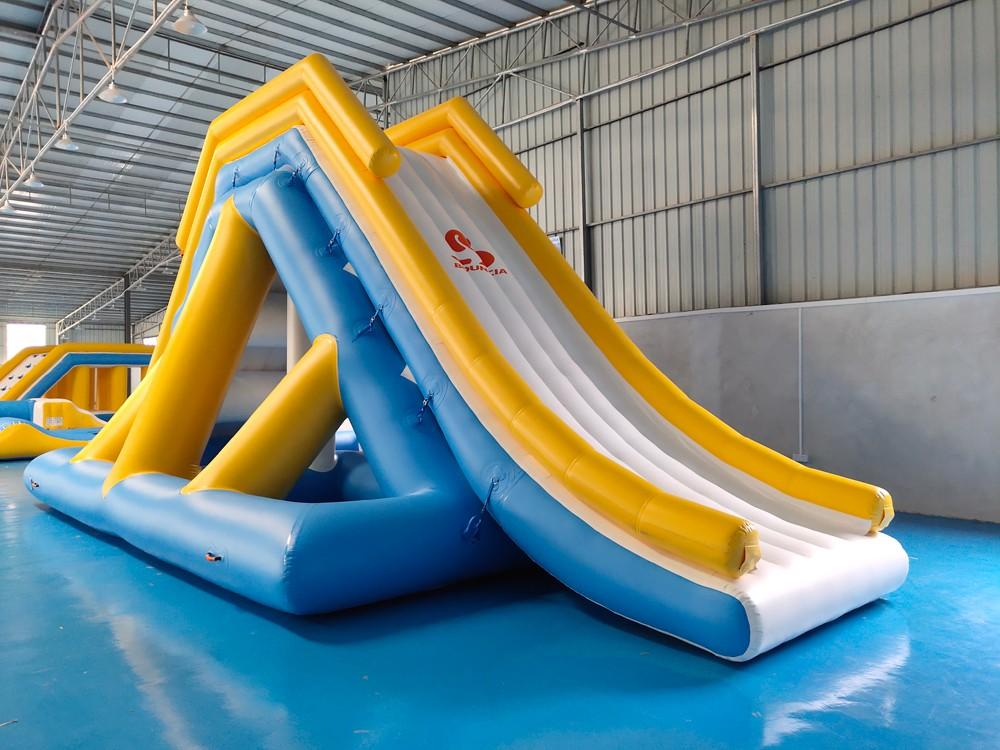 Bouncia -Manufacturer Of Aqua Park Equipment Aqua Park Inflatable Floating Water Slide