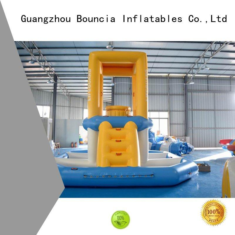 Custom course durable inflatable water games