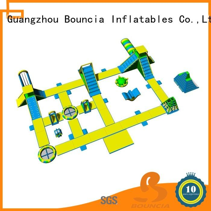 Bouncia tarpaulin inflatable pool park manufacturer for outdoors