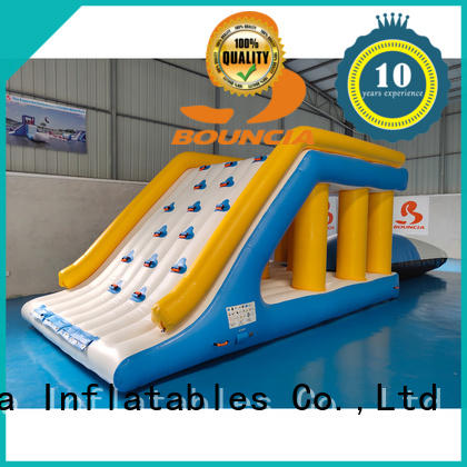 Bouncia awesome inflatable obstacle course customized for outdoors