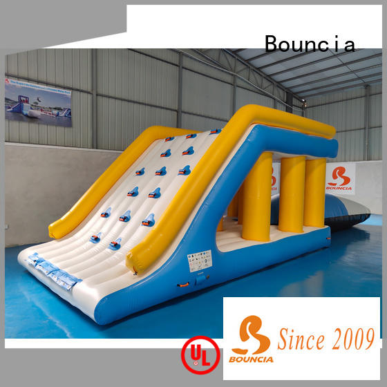 Bouncia item outdoor inflatable park manufacturer for pool