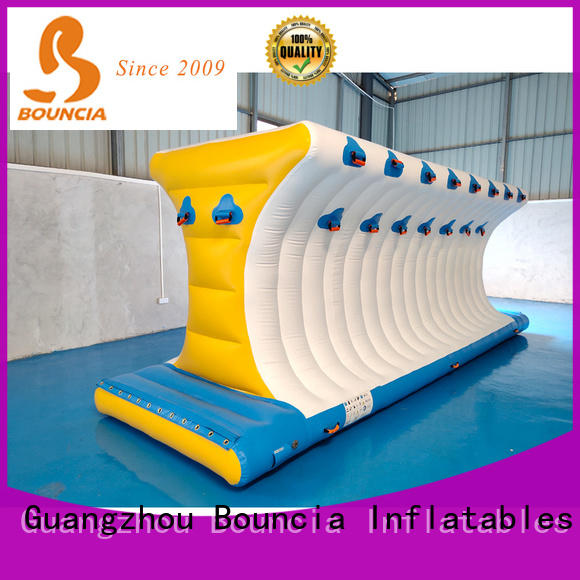 Bouncia beam inflatable water obstacle course manufacturer for adults