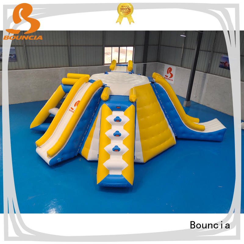 Bouncia durable inflatable water fun series for pool