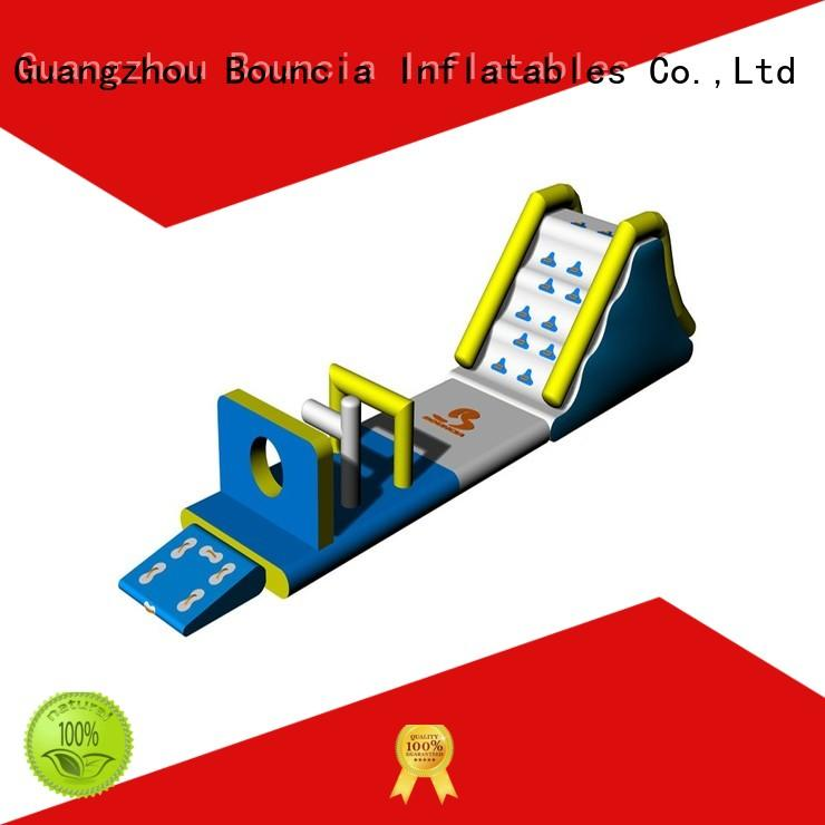 obstacle inflatable amusement park sport games for lake Bouncia