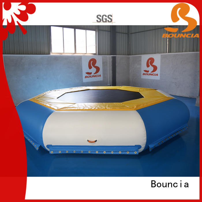 Bouncia certificated inflatable water park supplier for business for adults