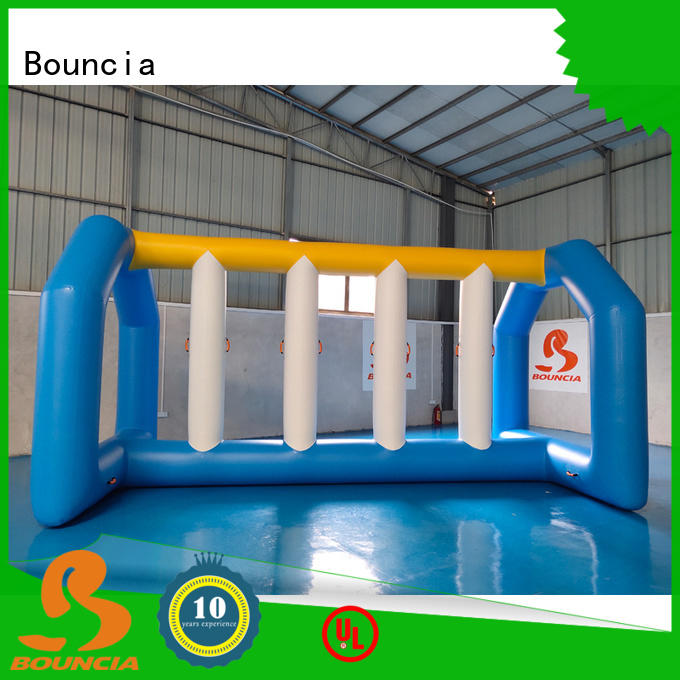 Bouncia certificated floating water sports for business for pool