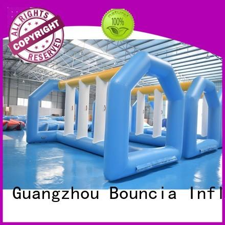 Hot new inflatable water games mini price Bouncia Brand