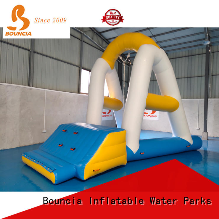 Bouncia tuv water obstacle course park manufacturer for kids