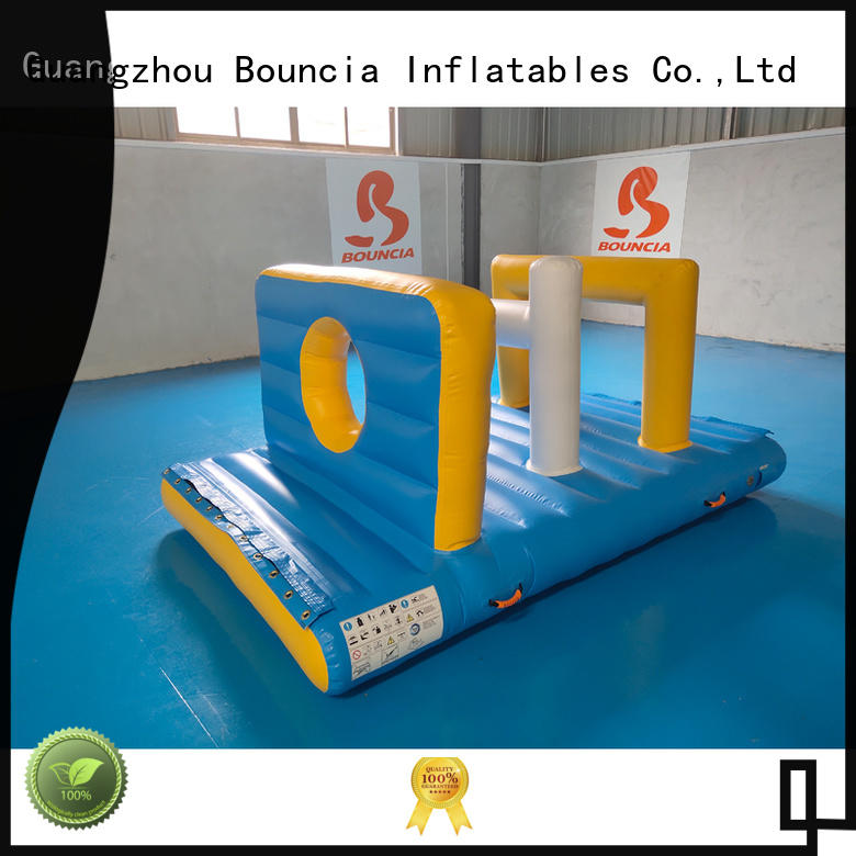 Bouncia ramp water park slides for sale customized for outdoors