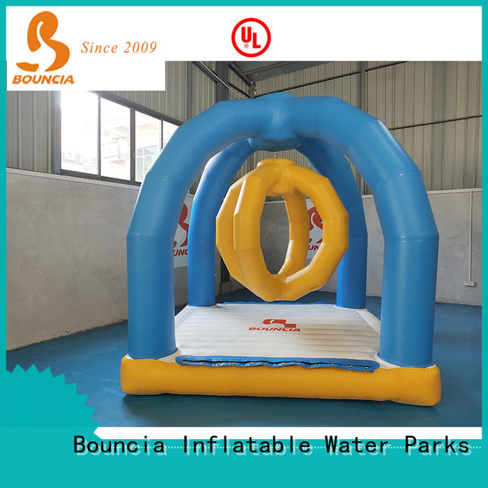 stable inflatable backyard water park mini games from China for adults