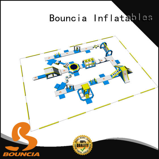 Bouncia equipment big inflatable water park in stock supplier for kids