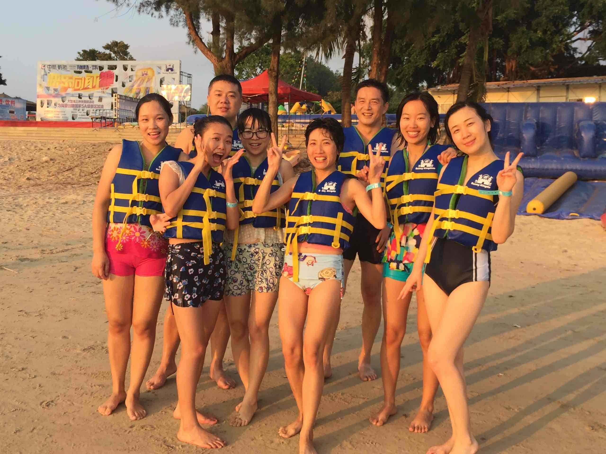 Bouncia -Team Building In a Sea Park | News On Bouncia Inflatables