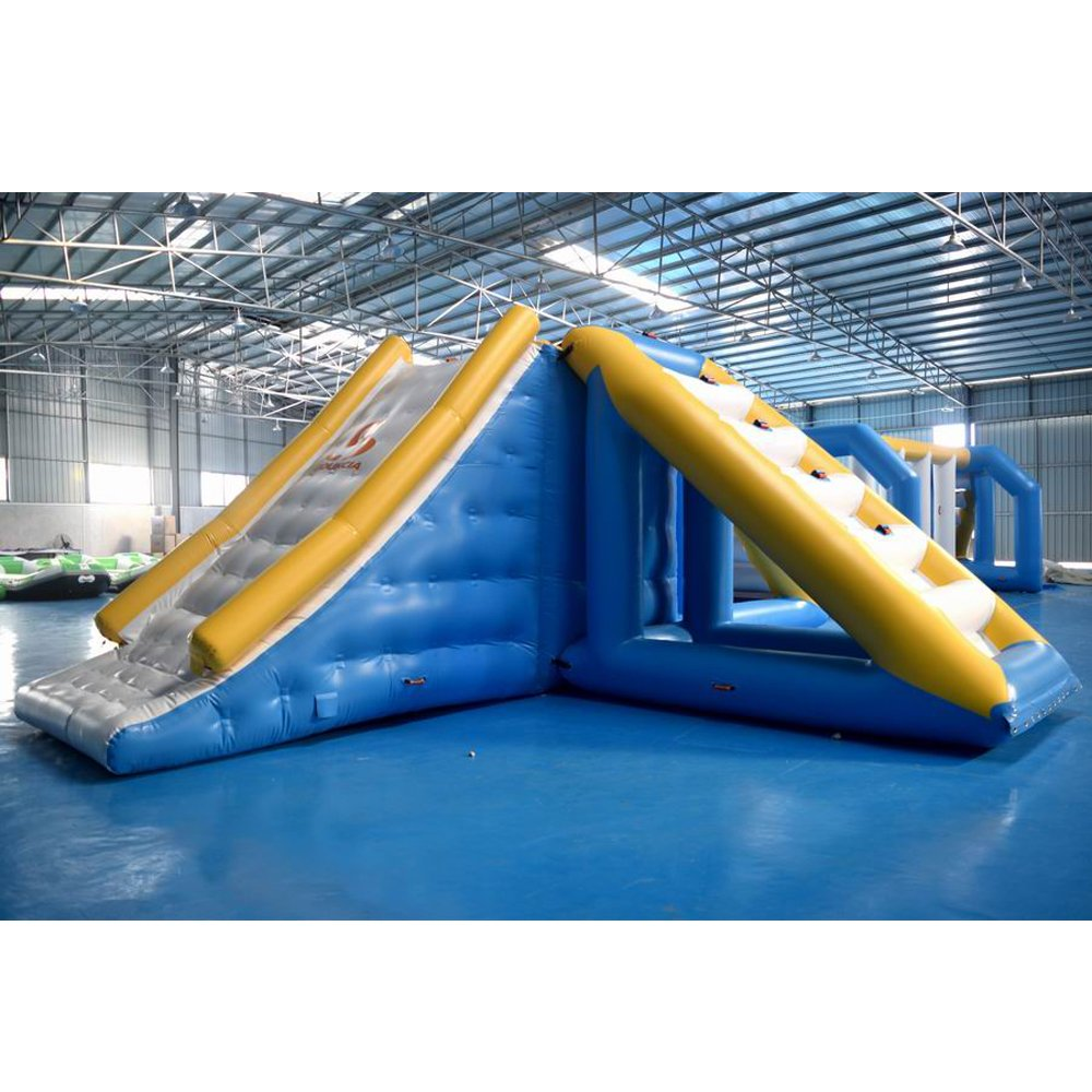 Bouncia -Inflatable Lake Water Park | Tuv Certificate Giant Inflatable Water Toys