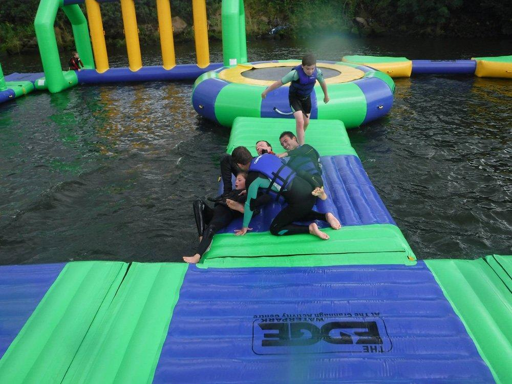 UK Inflatable Water Park Games Design Build
