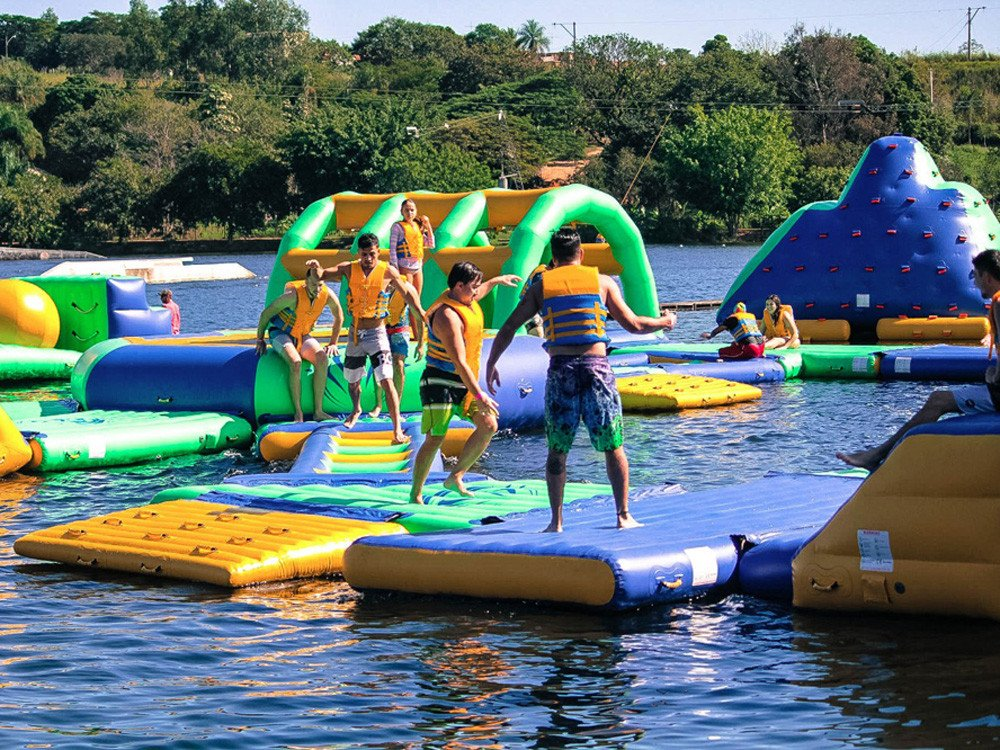 Bouncia -Inflatable Floating Water Park Games For Adults With Tuv Certificate |-20
